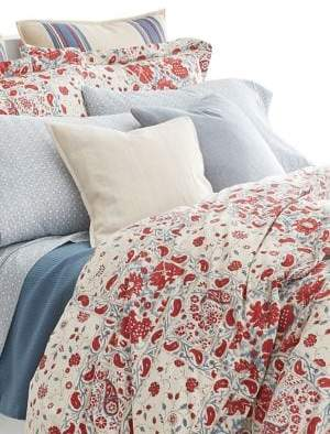 Lauren Ralph Lauren Kelsey 120 Thread Count Cotton Three-Piece Duvet Cover Set