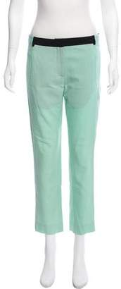 A.L.C. Mid-Rise Cropped Pants