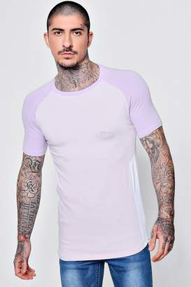 boohoo MAN Signature Muscle Fit T-Shirt