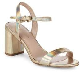 BCBGeneration Becca Washed Iridescent Sandals
