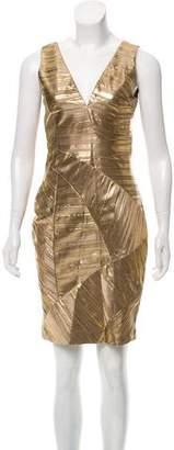 Versace Silk Bodycon Dress
