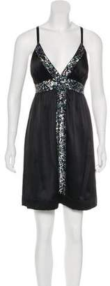 Single Dress Mini Sequin Dress