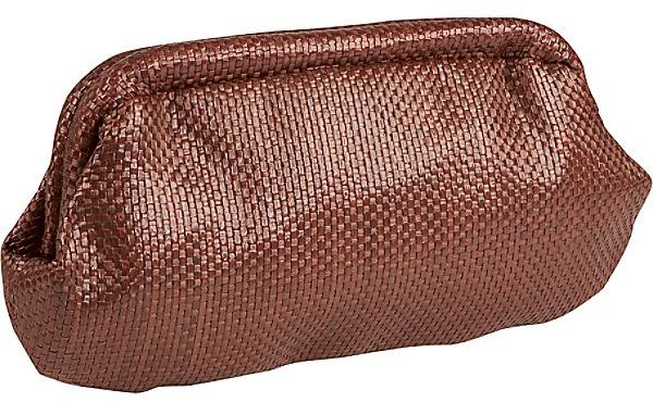 The Jesse B. Collection Mahogany Clutch