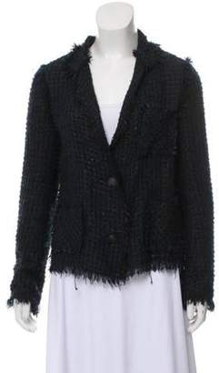 Lanvin Casual Boucle Jacket Navy Casual Boucle Jacket