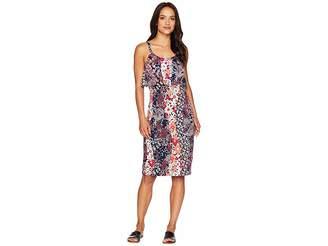 MICHAEL Michael Kors Patch Flounce Tank Dress Women's Dress