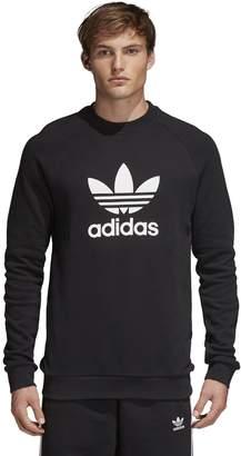 adidas Men's Trefoil Crewneck Sweatshirt