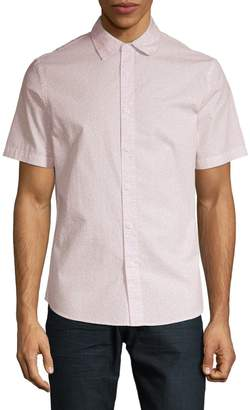 Core Life Short Sleeve Printed Button-Down Shirt