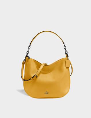 Coach Chelsea 32 Hobo Bag in Yellow Calfskin
