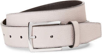 Cole Haan Grey Harness Leather Belt