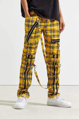 Tripp Nyc NYC Zip Chain Plaid Pant