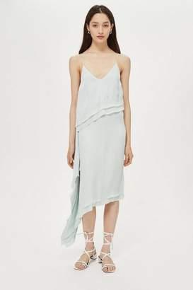 Topshop **Double Hem Slip Dress by Boutique