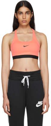 Nike Pink Classic Strappy Sports Bra