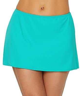 CoCo Reef Women's Slit Side Skirted Bikini Bottom Swimsuit
