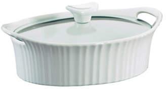 Corningware Oval 1.5-Quart Casserole Dish With Cover