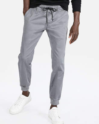 Express Cotton Sateen Jogger Pants