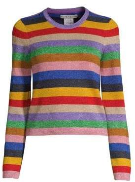 Alice + Olivia Rhodes Striped Pullover