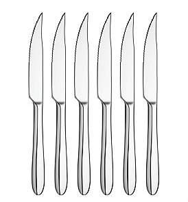 David Jones Texas Steak Knife Set Of 6