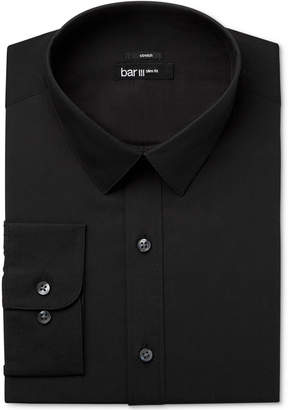 Bar III Men's Slim-Fit Stretch Solid Dress Shirt, Only at Macy's $65 thestylecure.com