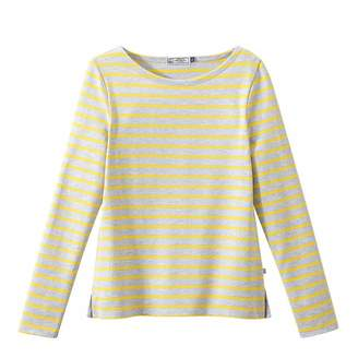 Grey/Yellow Iconic Breton Stripe Top