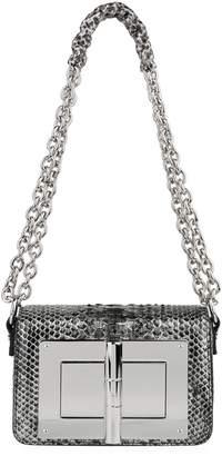 Tom Ford Small Natalia Python Shoulder Bag