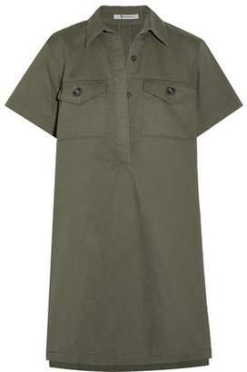 Alexander Wang Stretch-Cotton Gabardine Mini Shirt Dress