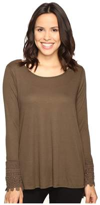Brigitte Bailey Taja Long Sleeve Top Women's Clothing
