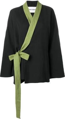 Henrik Vibskov Whirl kimono-style jacket