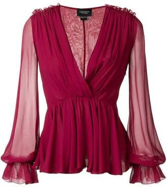 Giambattista Valli draped blouse