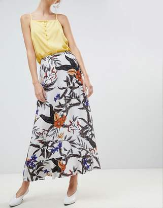 Gestuz Floral Printed Long Skirt