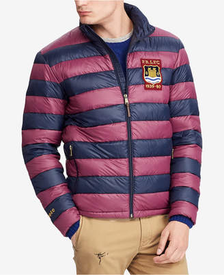 Polo Ralph Lauren Men Big & Tall Packable Varsity Puffer Jacket
