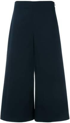 Mantu wide cropped trousers