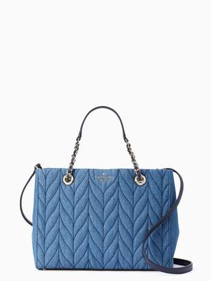 Kate Spade briar lane quilted denim meena