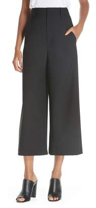 Vince High Rise Wide Leg Crop Pant