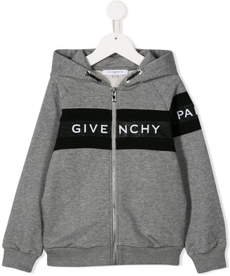 Givenchy Kids logo hoodie