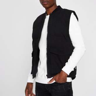 Bellfield Black padded jacket