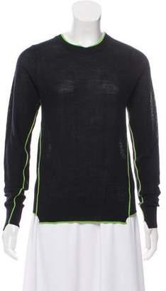 A.L.C. Crew Neck Rib Knit Sweater