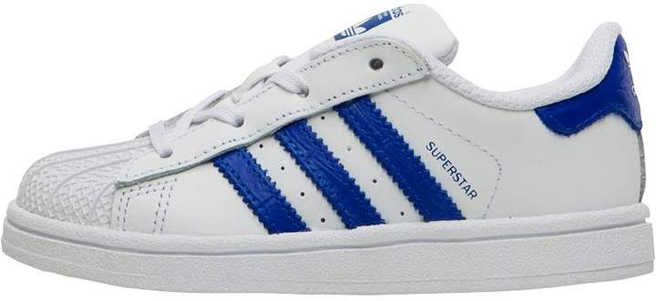 Infant Boys Superstar Trainers White