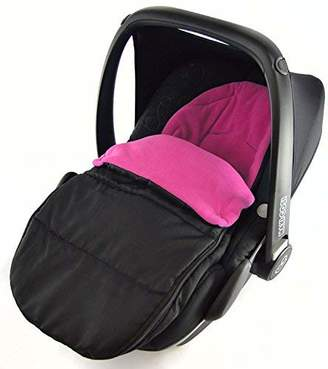 Stokke Car Seat Footmuff/Cosy Toes Compatible with Car Seat Pink Rose