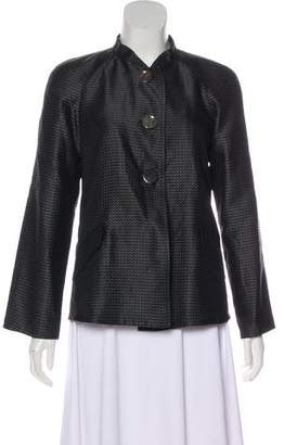 Giorgio Armani Pleated Evening Jacket