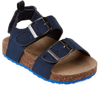 Carter's Toddler Boys) Navy Aldus Buckle Sandals