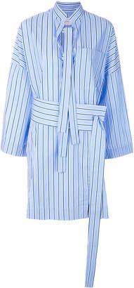 Victoria Victoria Beckham striped shirt dress