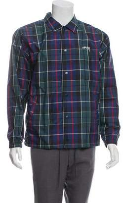 Stussy Checkered Nylon Jacket