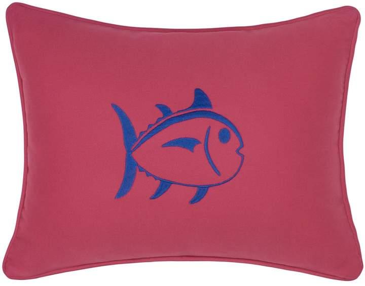 Skipjack Chino Americana Embroidered Skipjack 12×18 Breakfast Pillow