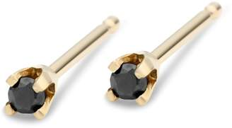 Black Diamond Liesel Love Jewelry - Tiny Studs