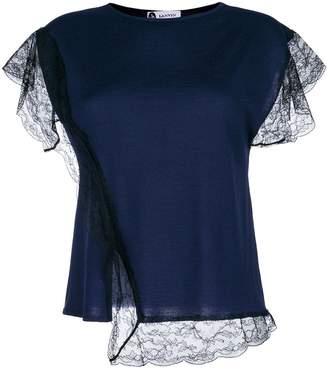 Lanvin lace insert T-shirt