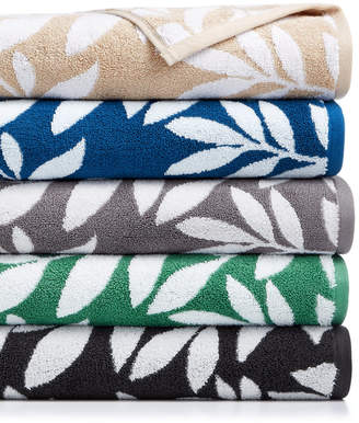 Charter Club CLOSEOUT! Elite Cotton Leaves Towel Collection, Created for Macy's & Reviews - Bath Towels - Bed & Bath - Macy's