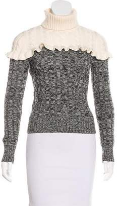 Philosophy di Lorenzo Serafini Cable Knit Wool Sweater