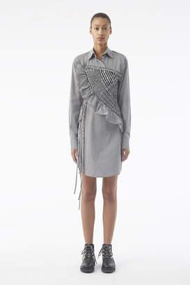 3.1 Phillip Lim Asymmetrical Gingham Shirt Dress