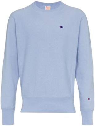 Champion light blue reverse weave sweatshirt