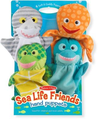 Melissa & Doug Sea Life Friends Hand Puppets Set